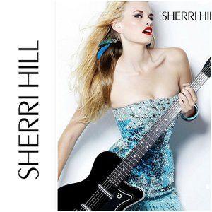 Sherri Hill Mini Dress Stones Sequins Prom Pageant